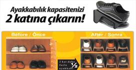 Ayakkabı Rampası: Ayakkabılık Organizer (3 Adet)