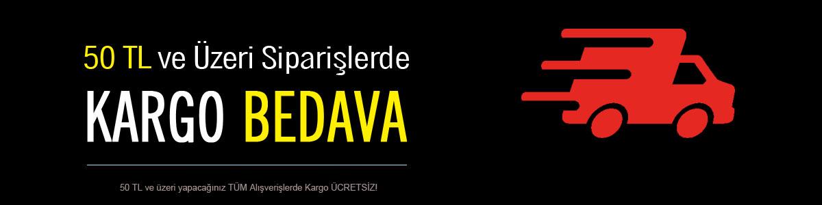 Kargo BEDAVA | 50 TL ve üzeri Alışverişlerde