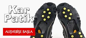 KarPatik Ayakkabı Kar Zinciri: Kayma Önleyici Buzpatik