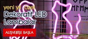 Dekoratif LED Masaüstü Aydınlatma ürünlerinde indirim fırsatları