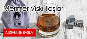 Mermer Viski Taşı: 12'li Soğutucu Taş