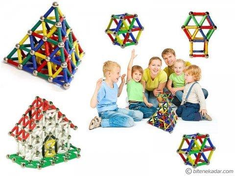 37 Parça Manyetik Lego Seti