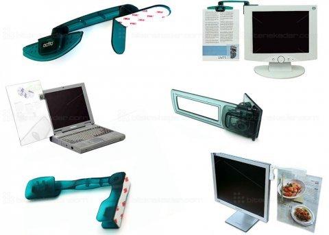 Evrak Tutucu: Laptop-Monitör-LCD-LED (3 Model)