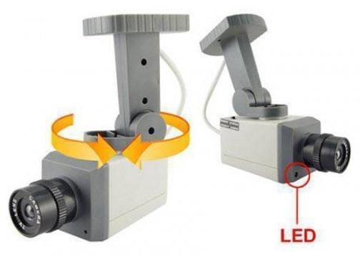 Sensörlü Hareketli Sahte Kamera