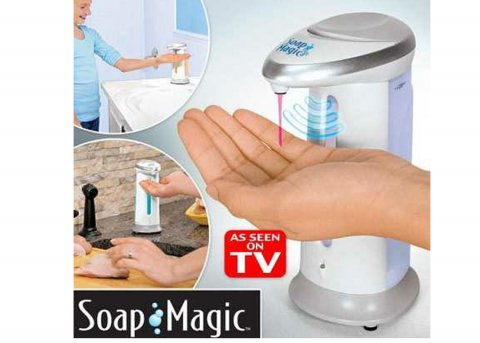 Soap Magic Sensörlü Sıvı Sabun Otomatı