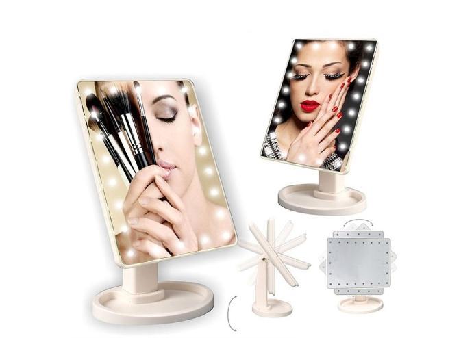 LED Makyaj Aynası: 22 LED 360 Derece