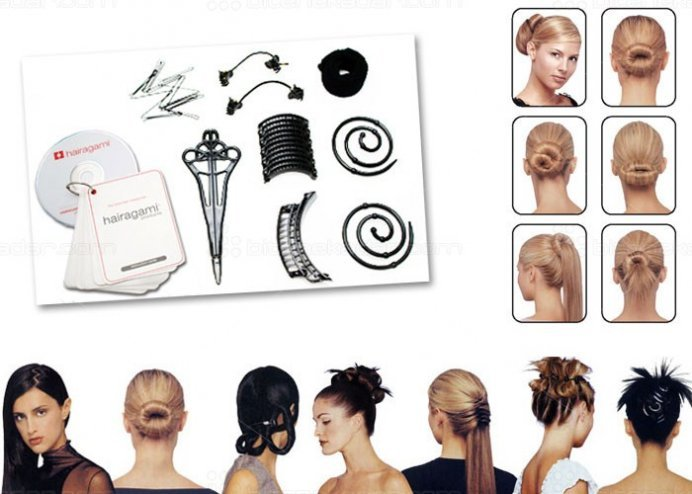 Saç Şekillendirme Seti: Total Hair Makeover Kit