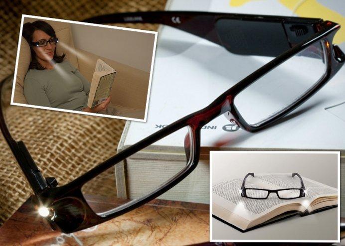 LEDli Kitap Okuma Gözlüğü (2 Model)