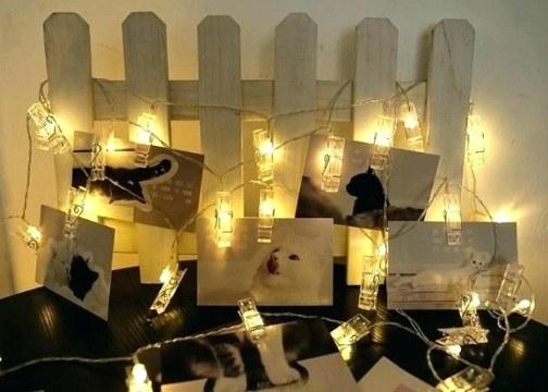 10'lu Led Işıklı Fotoğraf Mandalları