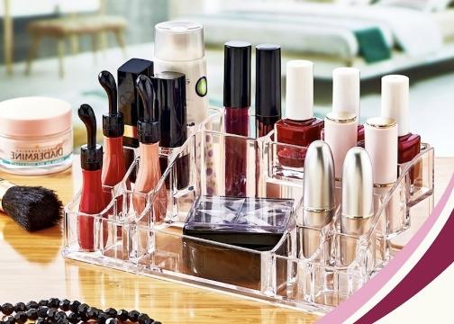 16 Gözlü Makyaj ve Kozmetik Ürün Organizeri