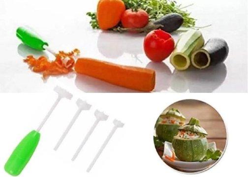 4in1 Dolma Sebze Patlıcan Biber Oyma Aparatı