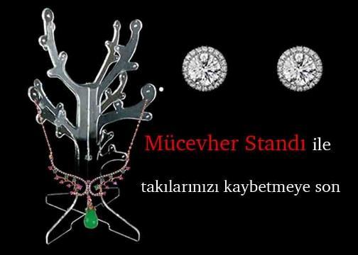Ağaç Şekilli Mücevher Standı