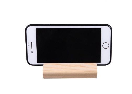 Ahşap Cep Telefonu ve Tablet Standı
