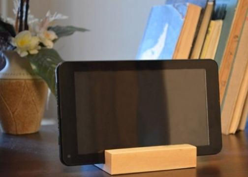 Ahşap Cep Telefonu ve Tablet Standı Büyük Boy