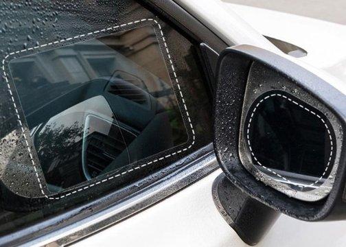 Araba Cam ve Ayna Yağmur Kaydırıcı Film (Çift)