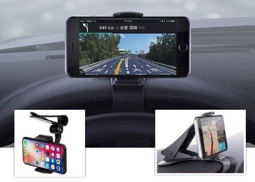 Araba Gösterge Paneli Üzerine Takılan Telefon Tutucu (Sabit)