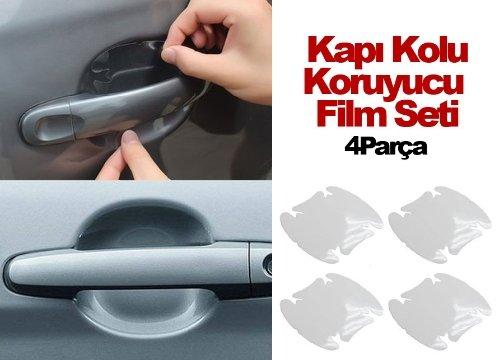 Araba Kapı Kolu Koruyucu Film (4lü Set)