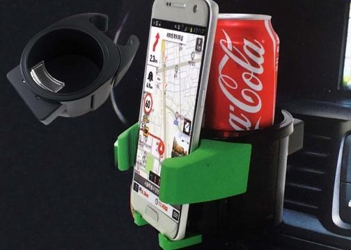Araç İçi Bardak ve Telefon Tutucu