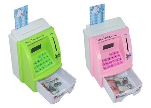 ATM Şeklinde Kasa Kumbara