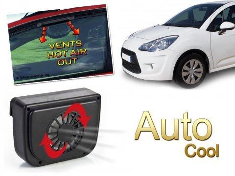 Auto Cool: Güneş Enerjili Araç Fanı