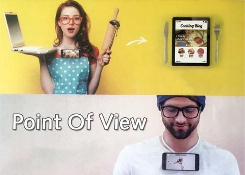 Boyna Asılan Çekim Aparatı: Point Of View