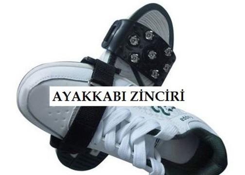 BuzPatik Ayakkabı Kar Zinciri: Kayma Önleyici Karpatik (Cırtlı)