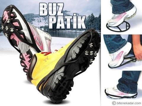 BuzPatik Kayma Önleyici Ayakkabı Kar Zinciri