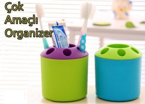 Çok Amaçlı Organizer: Diş Fırçalık ve Kalemlik