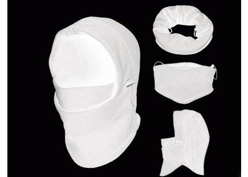 Çok Fonksiyonlu Bere (6 Fonksiyon Bir Arada) - Beyaz
