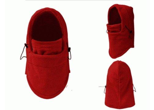 Çok Fonksiyonlu Bere (6 Fonksiyon Bir Arada) - Kırmızı