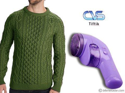 CVS Giysi Tüyü Alma Makinesi: Kazak Tüyü ve Pamuklanma Giderici