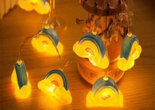 Dekoratif Gökkuşağı Şerit Led Işık