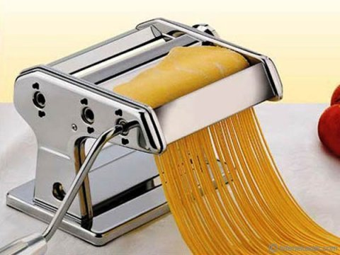 Çevirme Kollu Erişte ve Makarna Yapma Makinesi