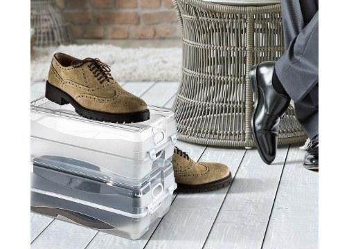 Erkek Ayakkabı Saklama Kutusu Havalandırma Delikli (Büyük)