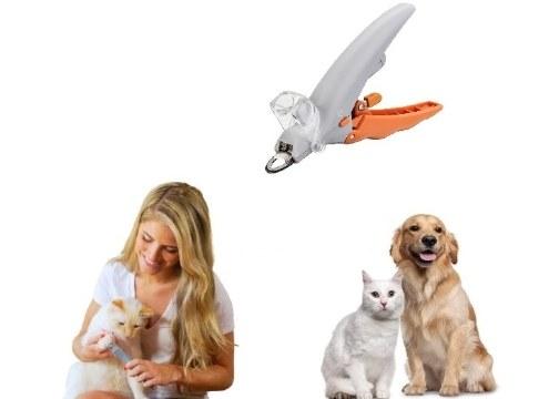Evcil Hayvan Tırnak Makası Işıklı ve Büyüteçli