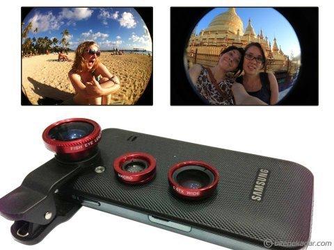 Balık Gözü Cep Telefonu Lensi: Fish Eye Lens