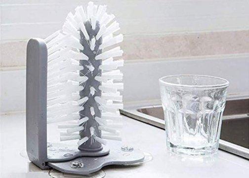 Vantuzlu Bulaşık Yıkama Fırçası