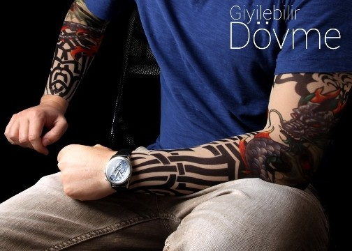 Giyilebilir Kollu Dövme: Tattoo Sleeves