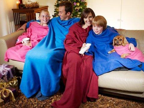 Giyilebilir Kollu Battaniye - Polar Battaniye