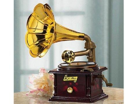 Gramofon Müzik Kutusu: Nostaljik Müzik Kutusu