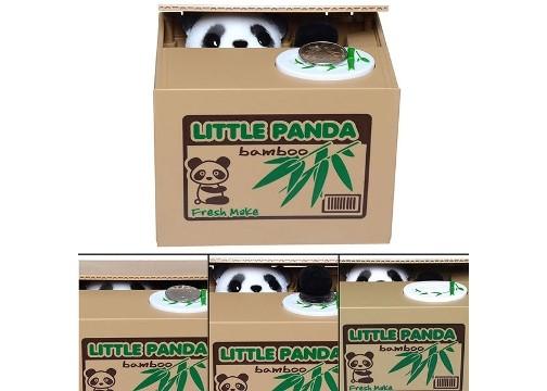 Hırsız Panda Kumbara: Para Çalan Panda Kumbara
