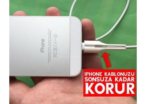 iPhone Kablo Koruyucu - Cable Protecter (2 Adet)