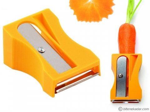 Kalemtraş Havuç Soyacağı: Carrot Sharpener