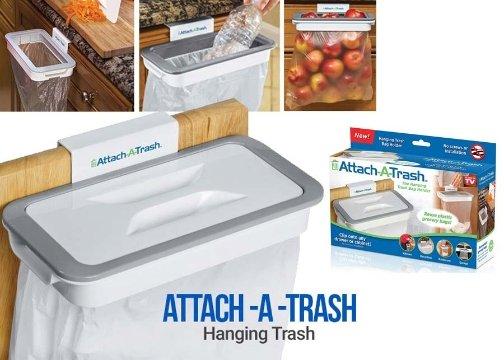 Kapaklı Çöp Poşeti Tutucu: Attach A Trash