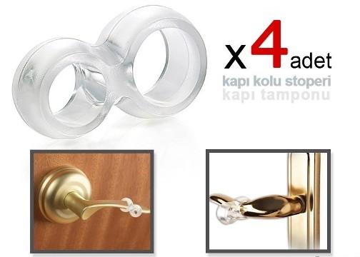 Kapı Kolu Stoperi - Kapı Tamponu - 4 Adet
