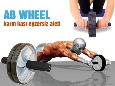 Karın Kası Egzersiz Aleti AB Wheel