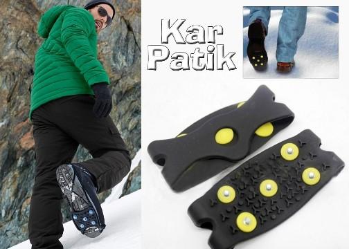 KarPatik Kayma Önleyici Ayakkabı Kar Zinciri (Geçmeli)