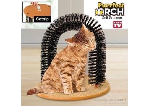 Kedi Kaşıma Masaj Kemeri Purrfect Arch