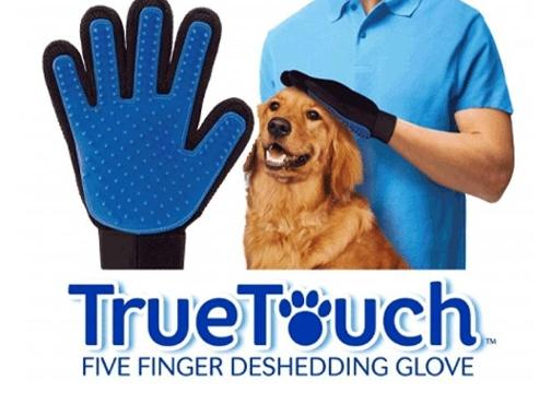Kedi Köpek Tüy Toplama Eldiveni: True Touch