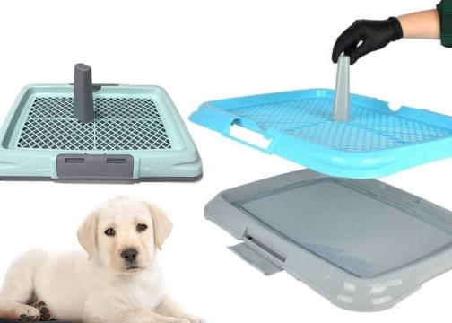 Köpek Tuvalet Eğitim Seti Elekli